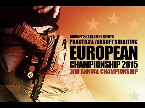 Championnat d'Europe de pistolet pratique Airsoft Surgeon 2015