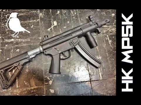 EXAMEN Elite Force MP5k & Stock Mod