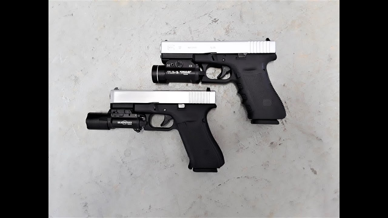 [Airsoft] Pistolets WE Glock 19X Gen 5 et Real Glock 17 Gen 3