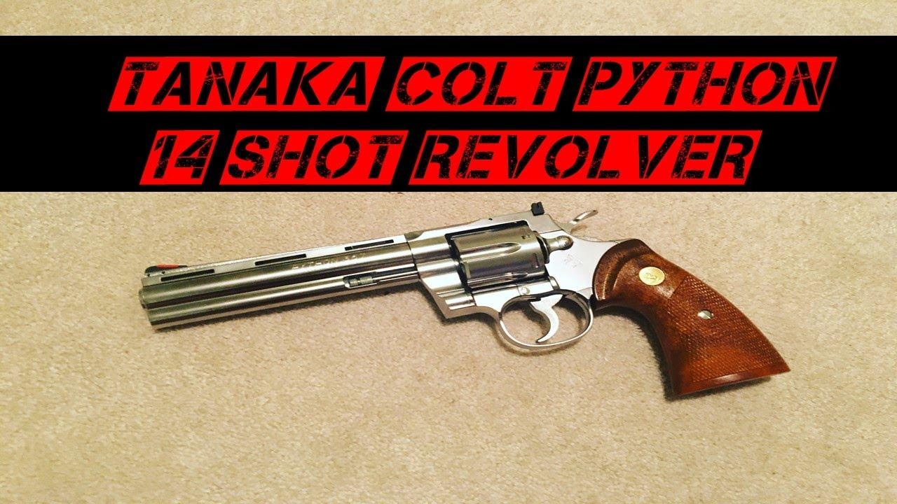 Revolver à gaz Tanaka Colt Python | Examen Airsoft (Meilleur revolver Airsoft)