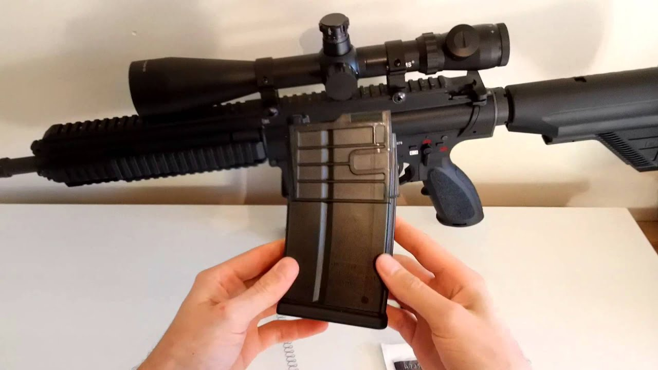 Airsoft: mise à niveau de la capacité du chargeur VFC HK417 GBB.