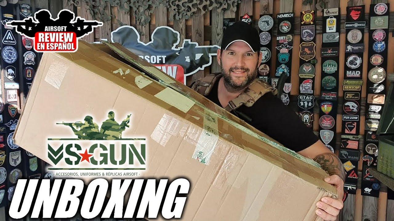 VSGUN Live Unboxing Tactical Things | Revue Airsoft en espagnol