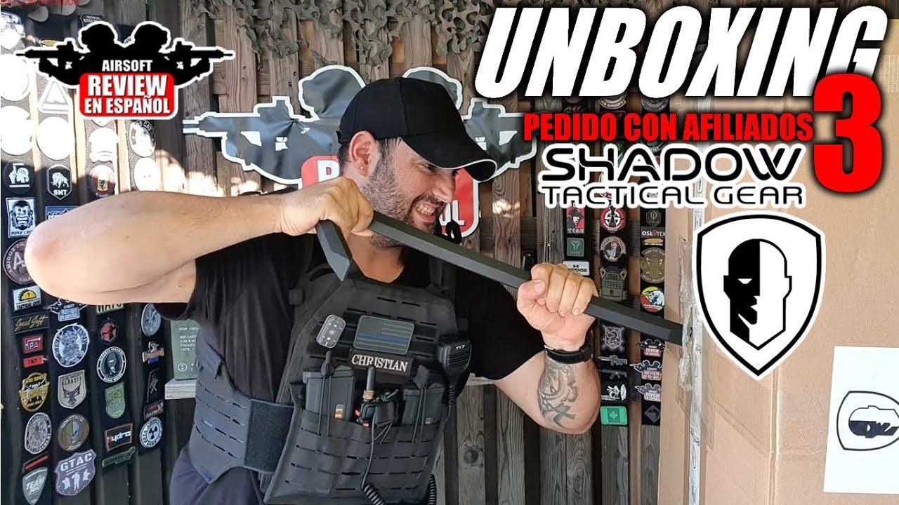 Direct: Commande d'affiliation 3 UNBOXING – Quel vice! | Revue Airsoft en espagnol