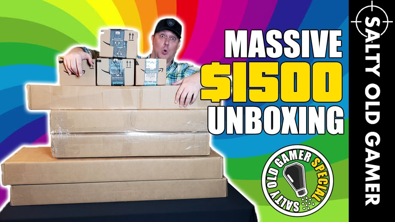 Unboxing Airsoft massif de 1500 $! 😱 | SaltyOldGamer Airsoft spécial