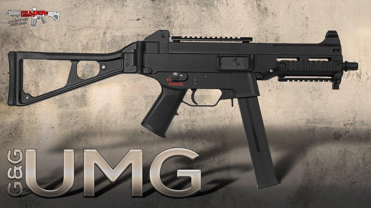 [Review] G&G UMG SMG – 6 mm AEG 0,5 Joule – Airsoft / Softair – Réplique: HK UMP (allemand, DE)