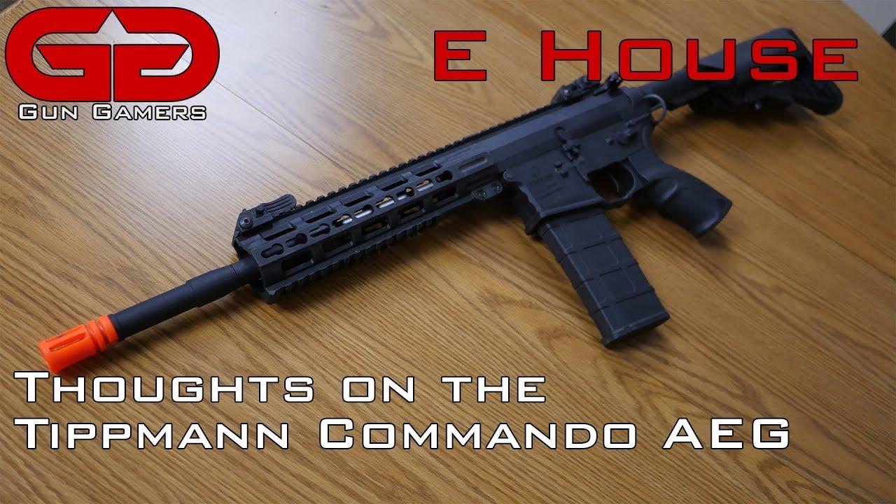 Réflexions sur le Tippmann Commando M4 AEG