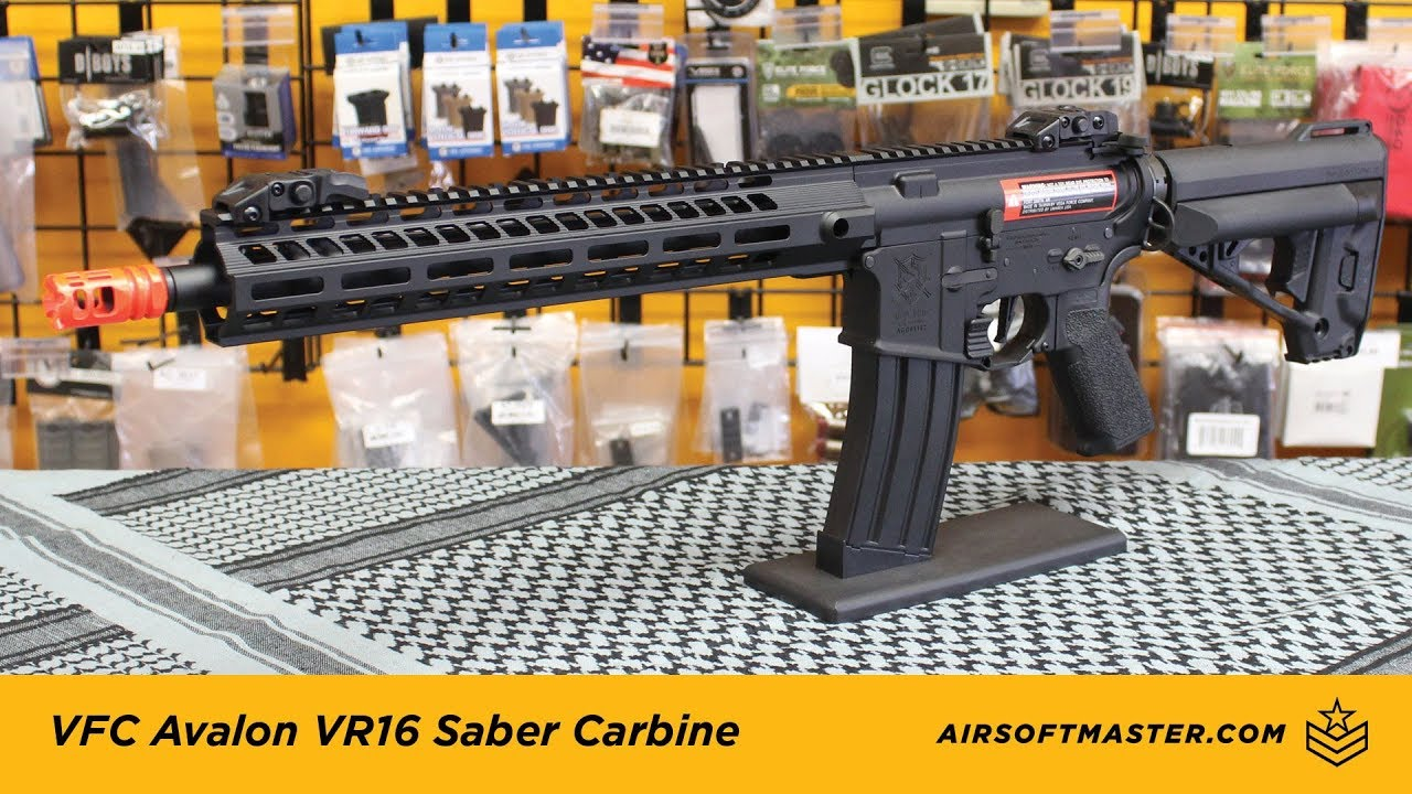 VFC Avalon VR16 Sabre Carbine Airsoft Reveiw