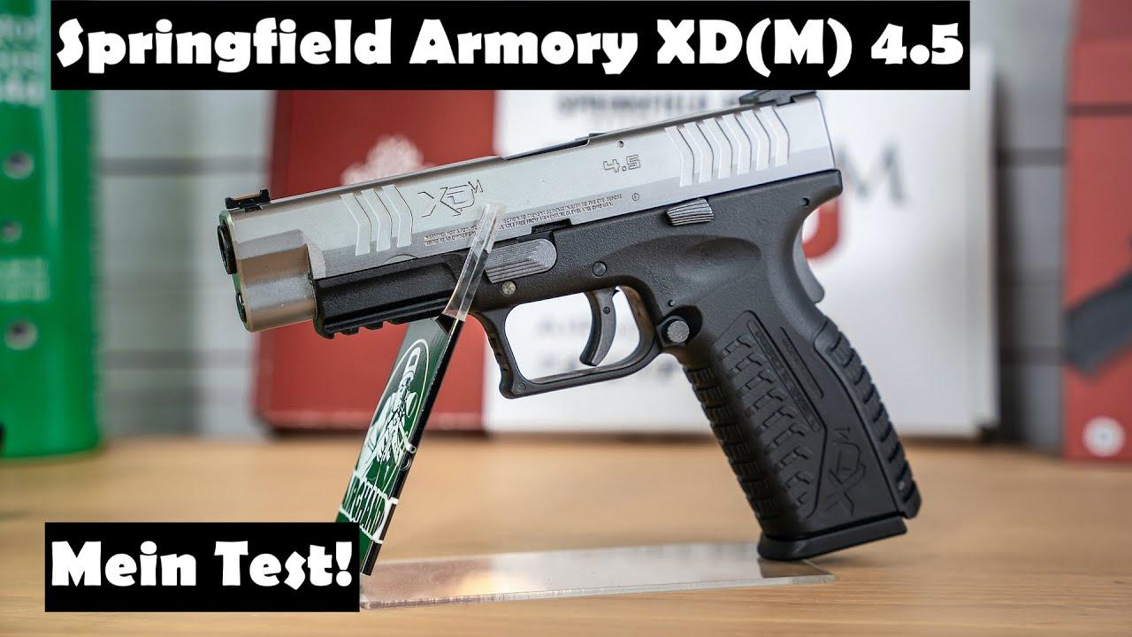 Pistolet Springfield Armory XD (M) 4.5 Airsoft – Mon test et mon avis