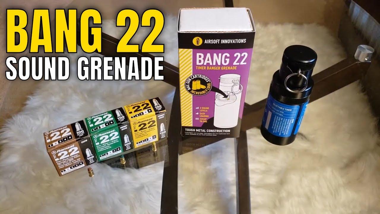 Examen de la grenade BANG 22 Airsoft