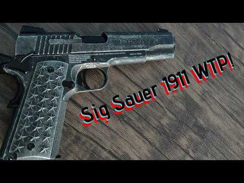 "Sig Sauer 1911 ""We The People"" CO2 BB Gun Unboxing & Review."