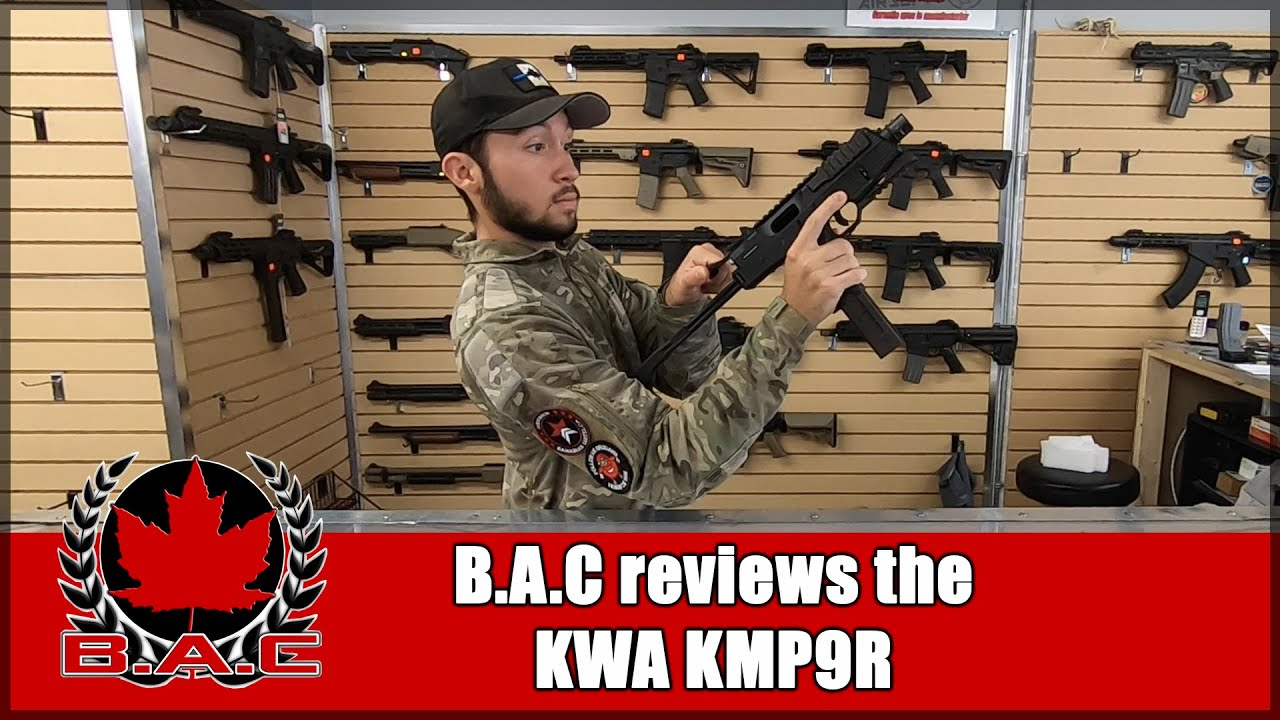 B.A.C Airsoft teste le KWA KMP9R | Images de gameplay