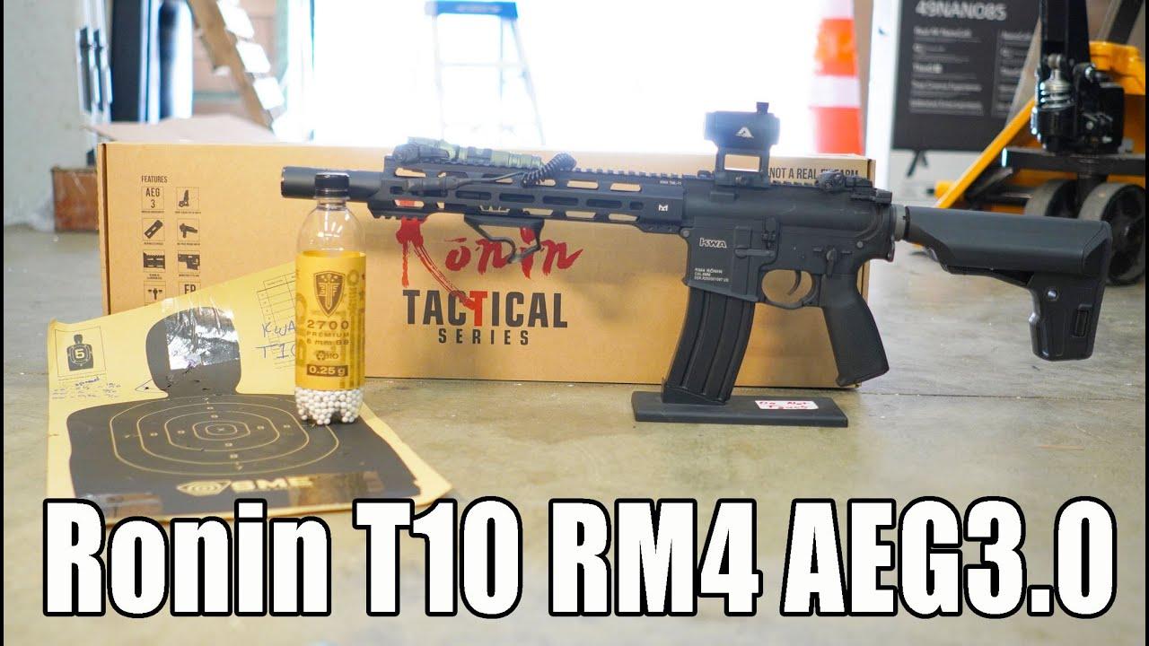 KWA T10 RM4 AEG3.0 Examen et prise de vue de recul