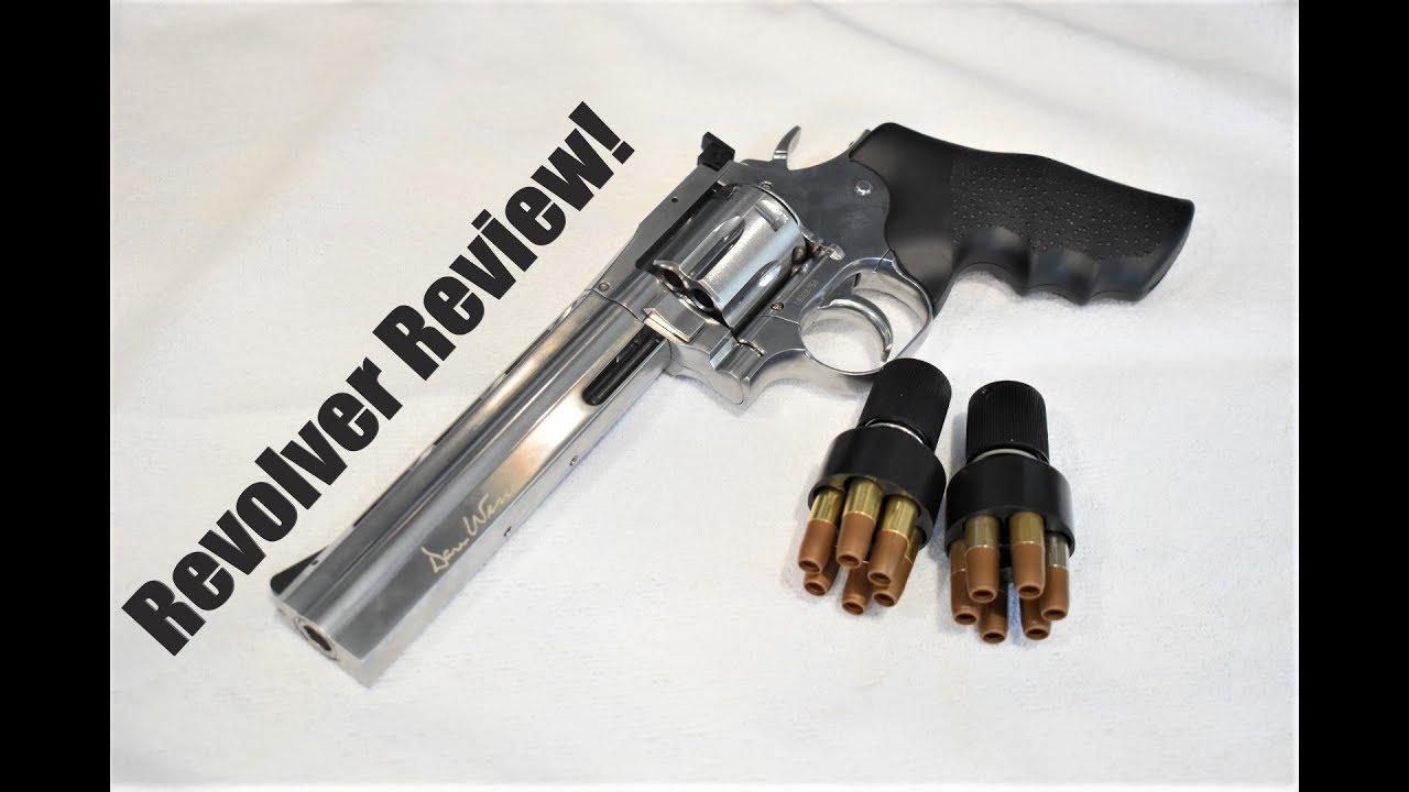 Revolver Airsoft alimenté au CO2 ASG Dan Wesson 715!