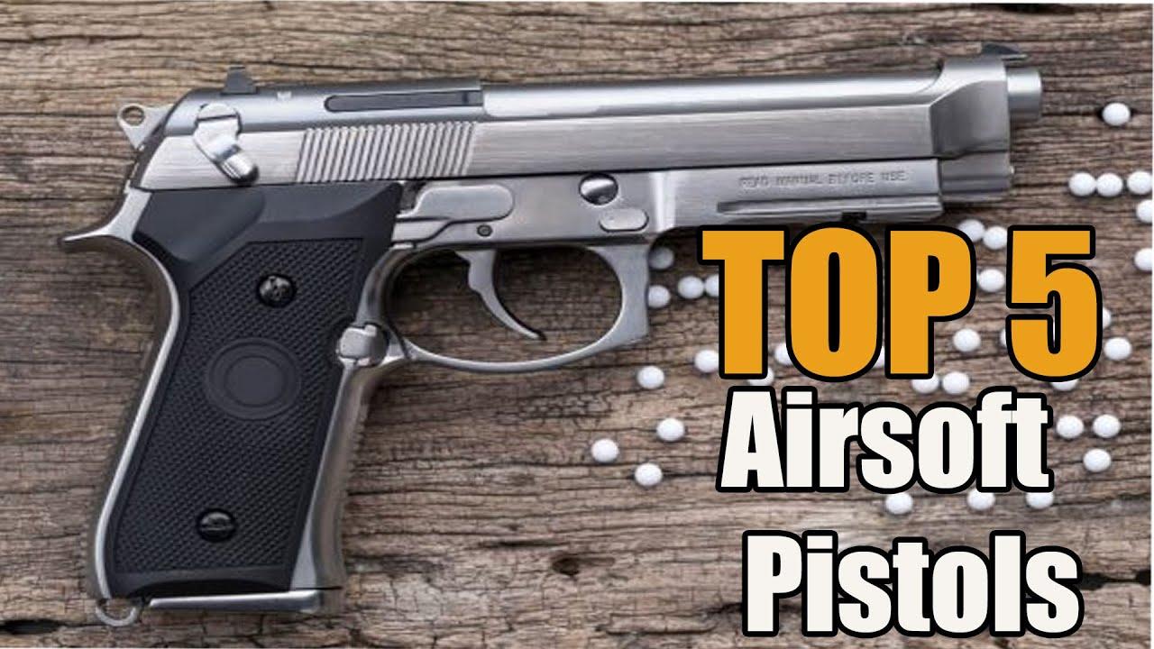 TOP 5 des meilleurs pistolets Airsoft sur Amazon || REVUE DE T-MAN