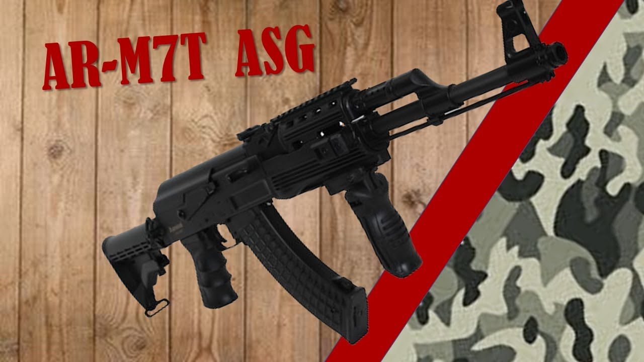 AIRSOFT REVIEW – AR-M7T
