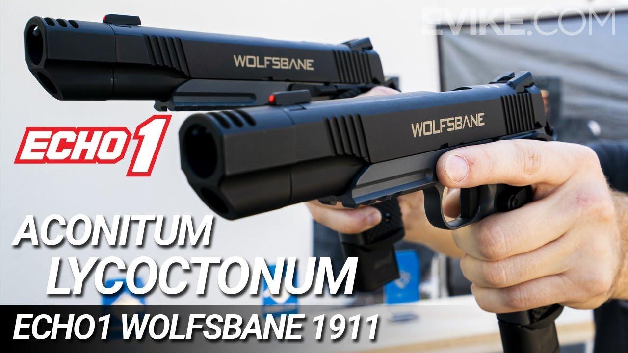 Aconitum Lycoctonum – Echo1 Wolfsbane 1911 GBB Pistol – Airsoft Review