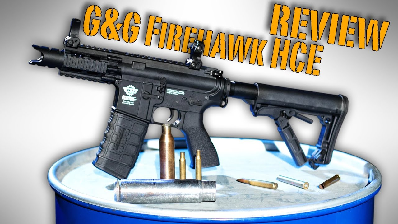FIREHAWK HIGH CYCLE G&G | REVUE | TEST DE TIR