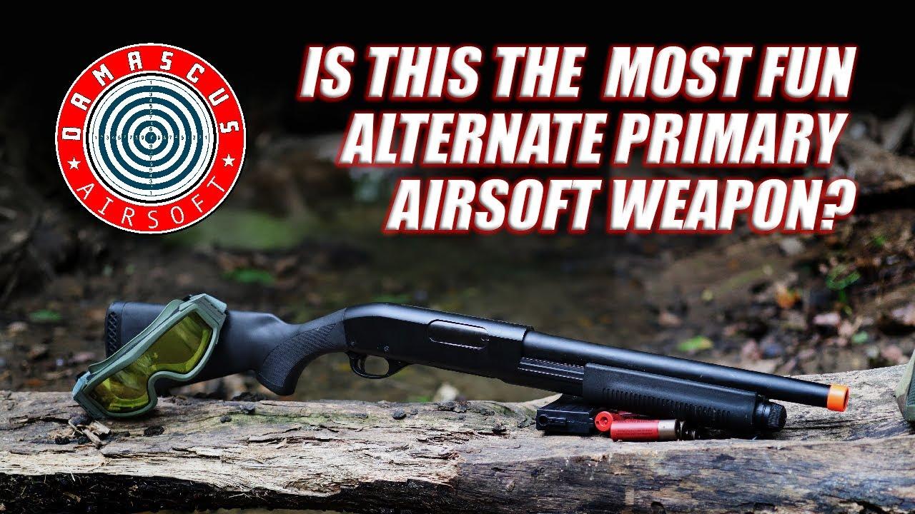 Arme principale alternative abordable – CYMA M870 Examen du fusil à pompe plein métal Airsoft