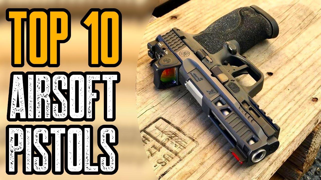 Top 10 des meilleurs pistolets Airsoft sur Amazon