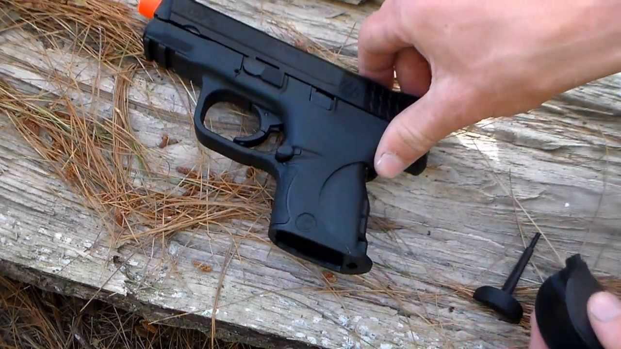 VFC Smith & Wesson M&P 9C Gas BlowBack Airsoft Revue du pistolet