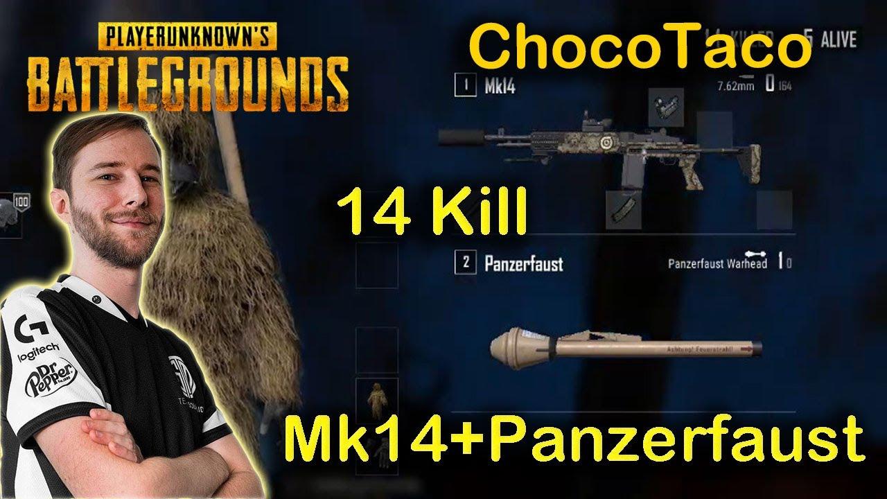 ChocoTaco – 14 KILLS (Mk14 + Panzerfaust) – KARAKIN – SOLO – POINTS FORTS DE PUBG