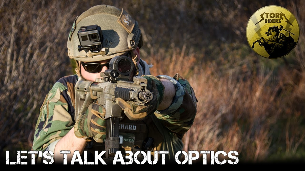 Parlons de l'optique en airsoft!