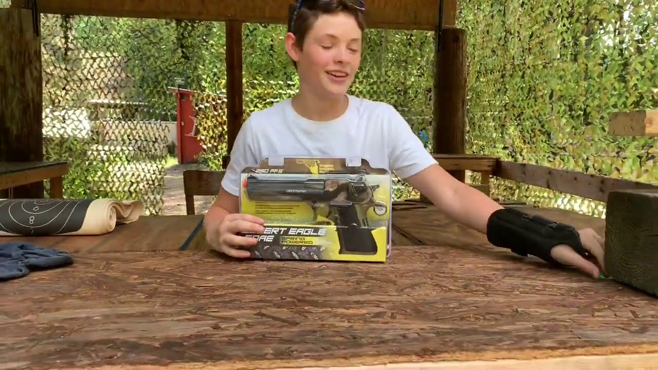 Pistolet Airsoft Desert Eagle Replica, examen et tests