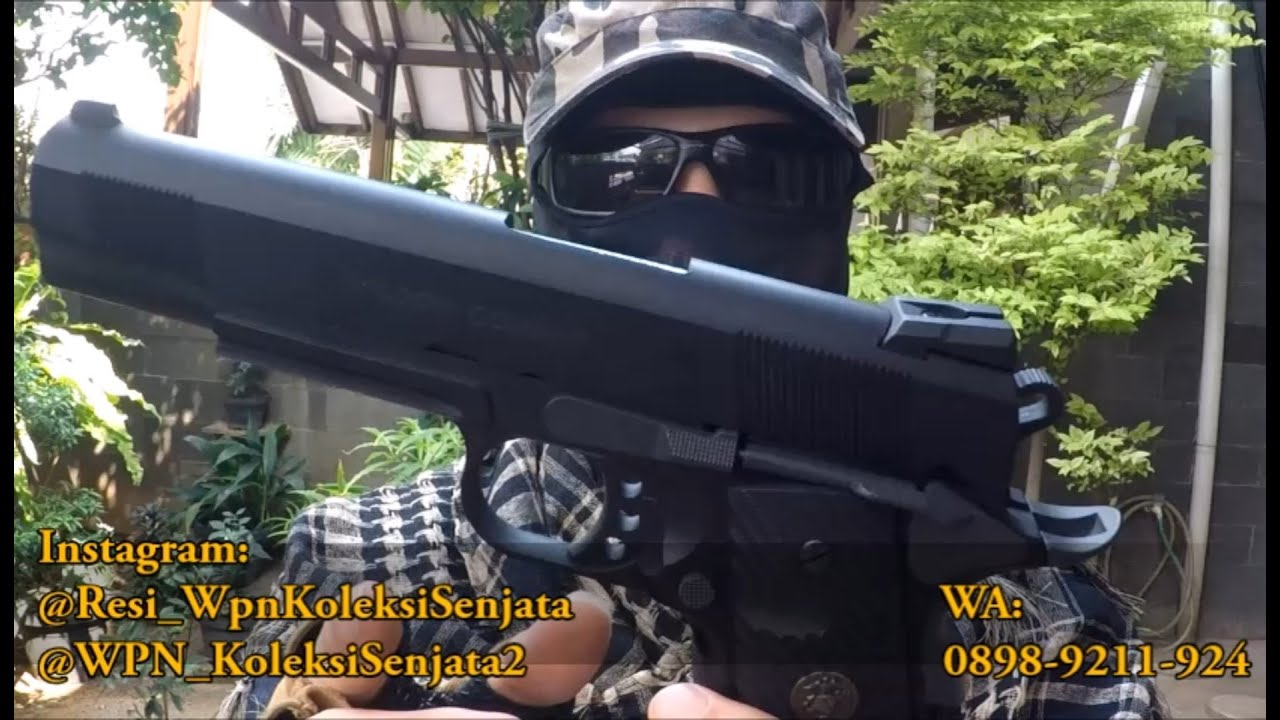 Évaluer Airsoftgun M1911 Wilson Combat Cal 6mm (SOCOM GEAR)
