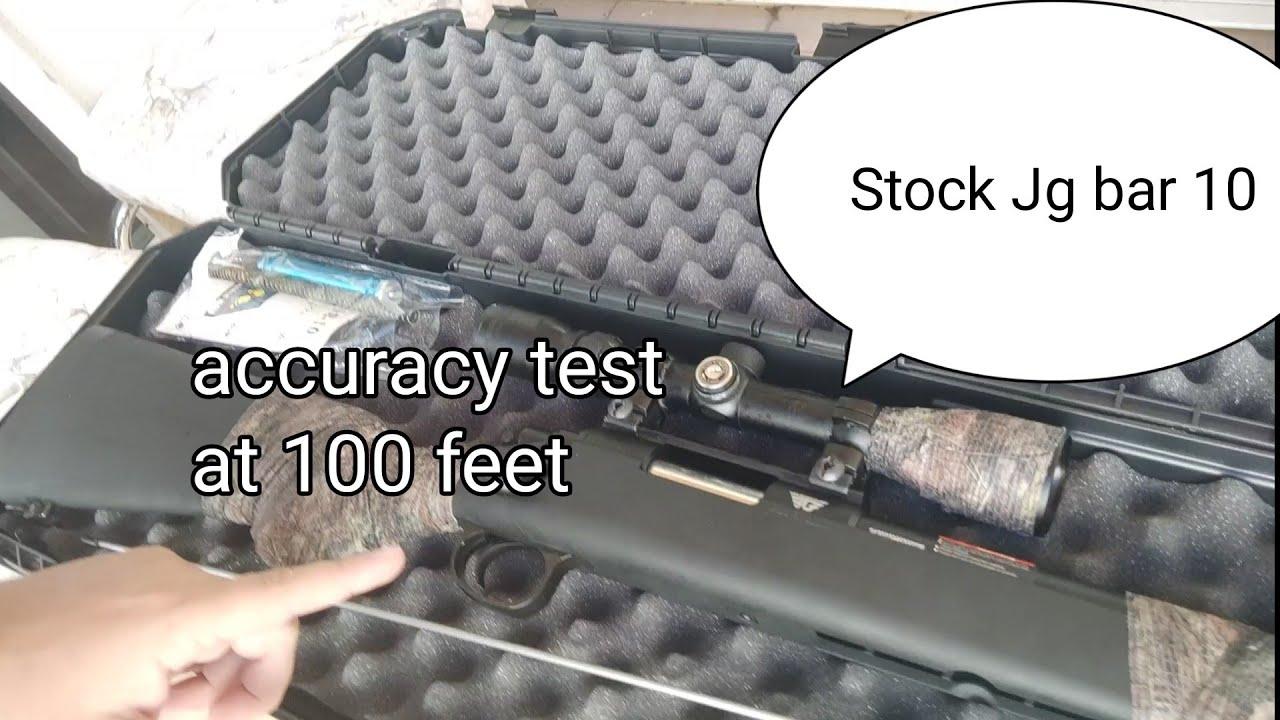 Test de précision Airsoft Sniper Jg VSR 10 (100 pieds) et examen des pièces
