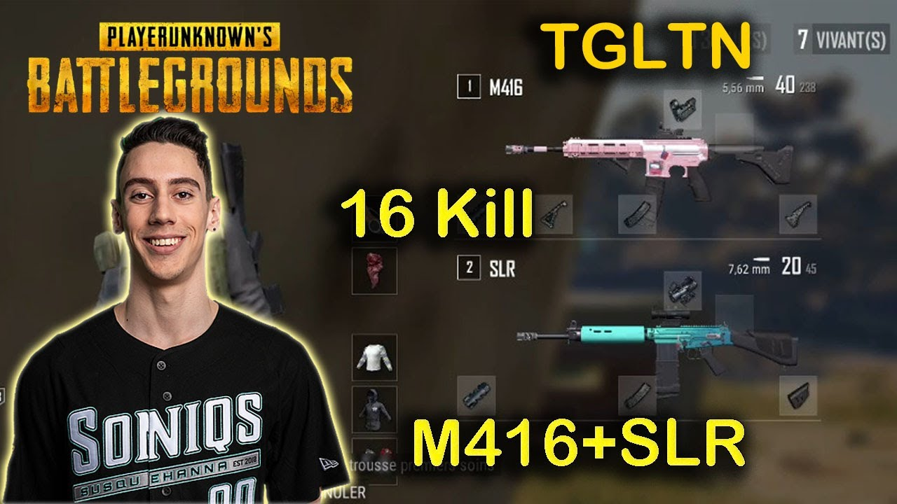 TGLTN – 16 Kills (M416 + SLR) – Karakin – Solo VS Squad – POINTS FORTS DE PUBG