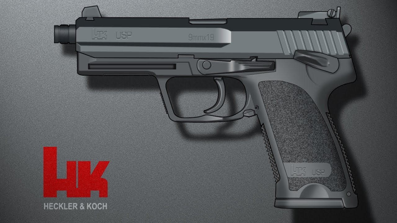 H&K USP Co2 Airsoft Review et tournage