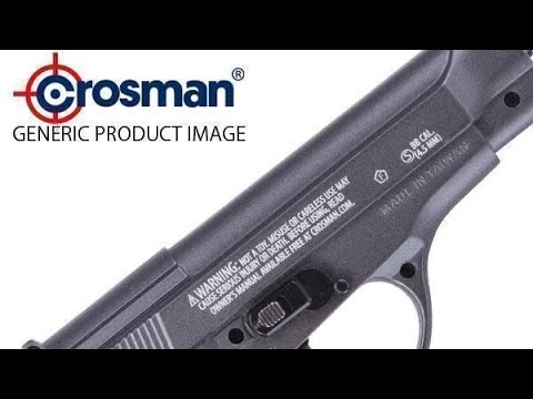 Crosman PF-M16 Co2 Airsoft examen et tir