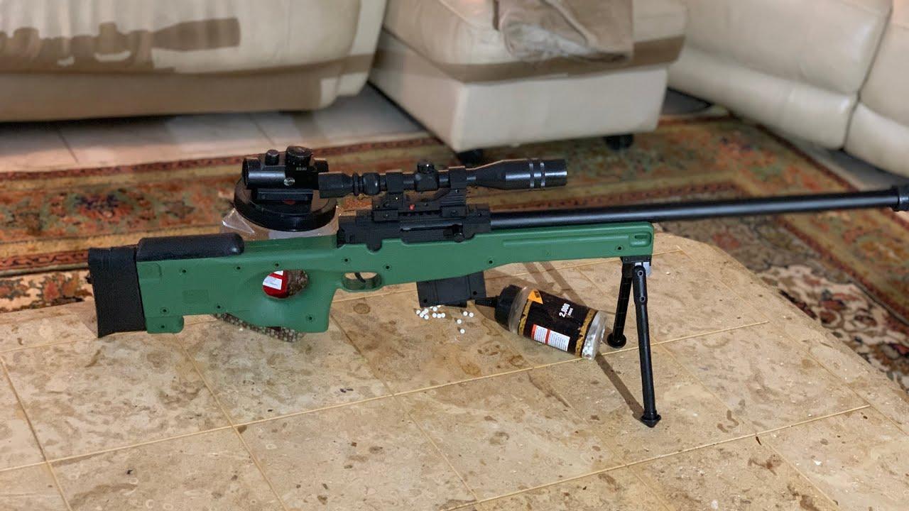 Examen du fusil de sniper Ukarms Airsoft