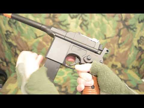 Examen du pistolet Airsoft Double Eagle M32 (M712) (demandé)