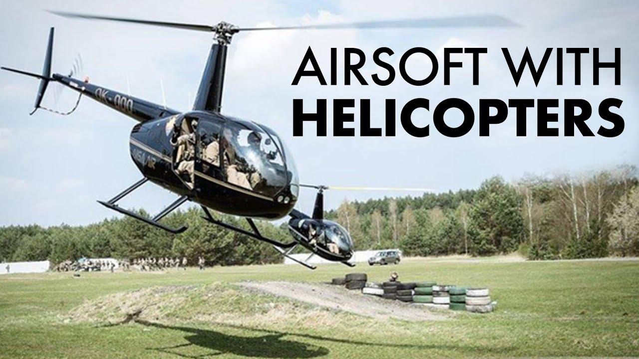 Mission Airsoft avec des hélicoptères