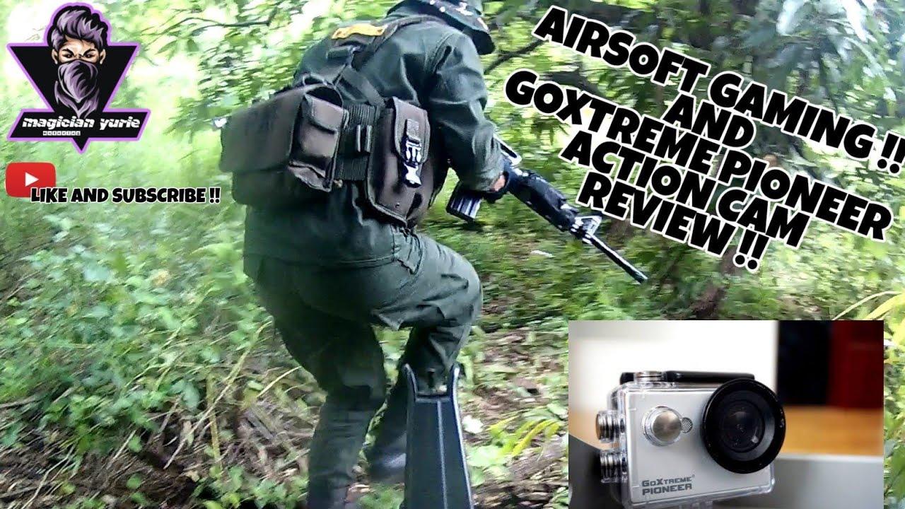 Examen de la caméra GoXtreme Pioneer X AIRSOFT GAMING