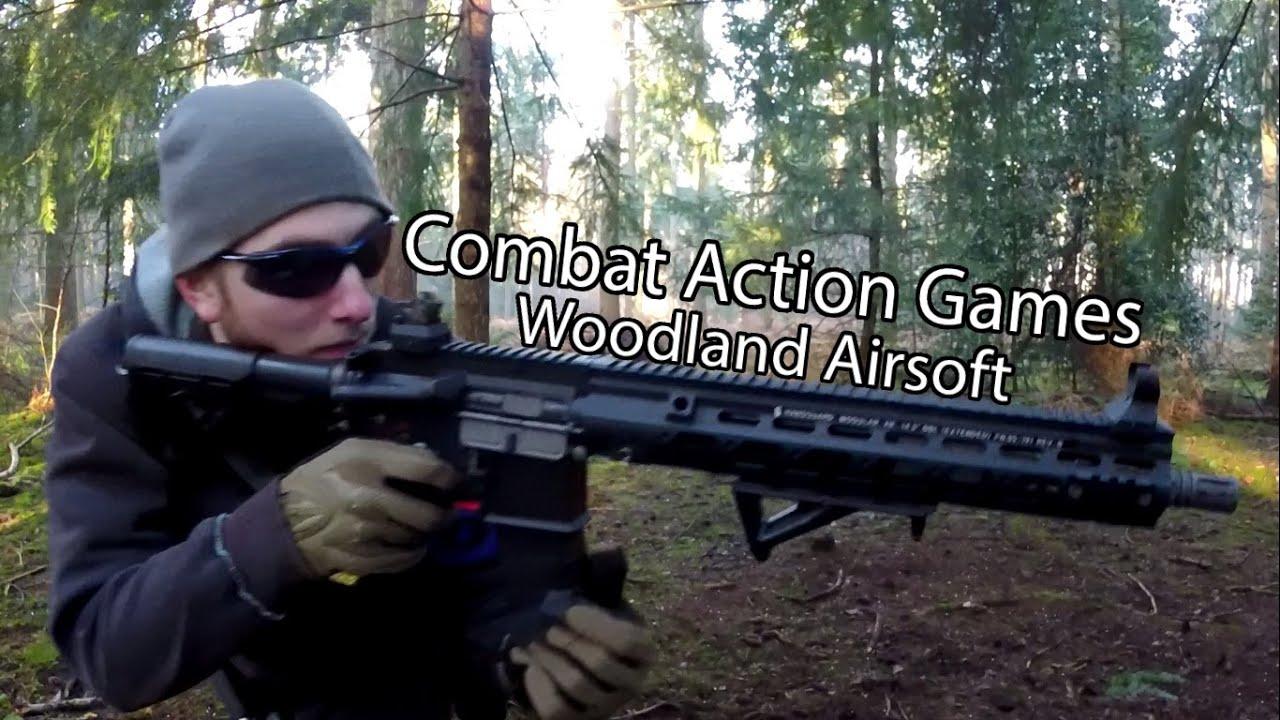 Woodland Airsoft War at Combat Action Games, Norfolk, Royaume-Uni – 04/01/2015