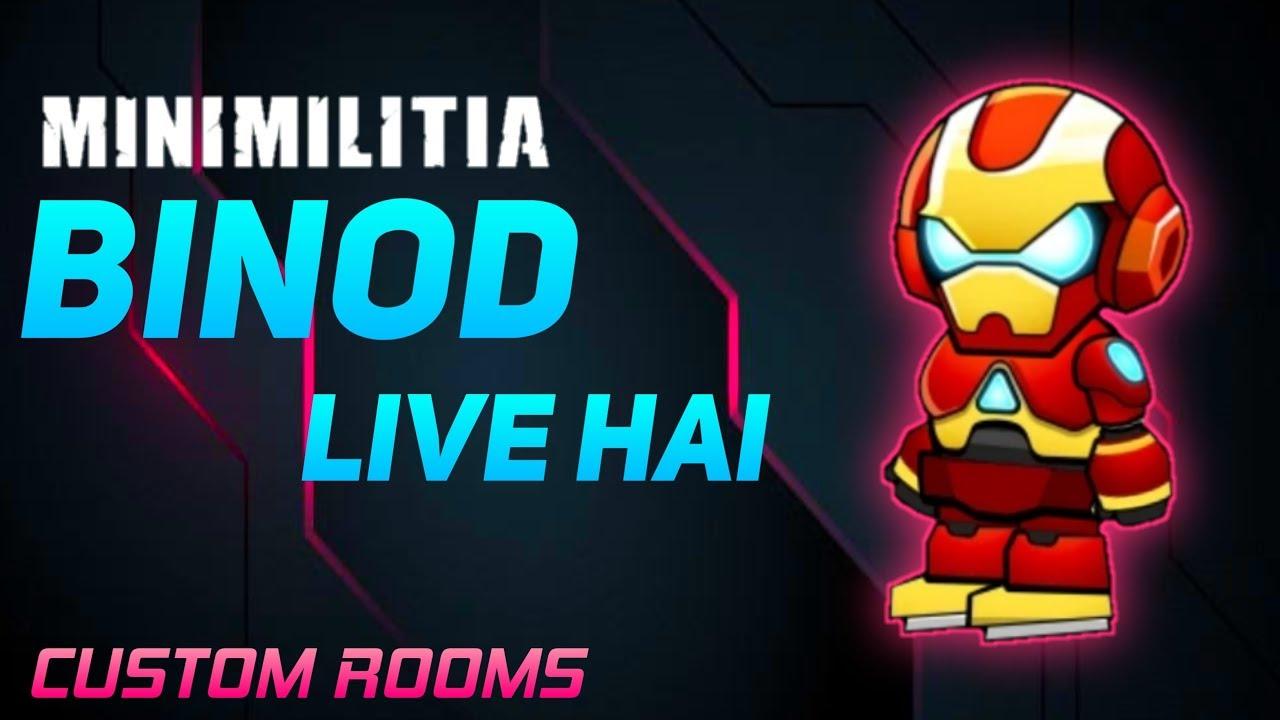 BINOD Live Hai | Chambres personnalisées | Diffusion en direct de Mini Militia