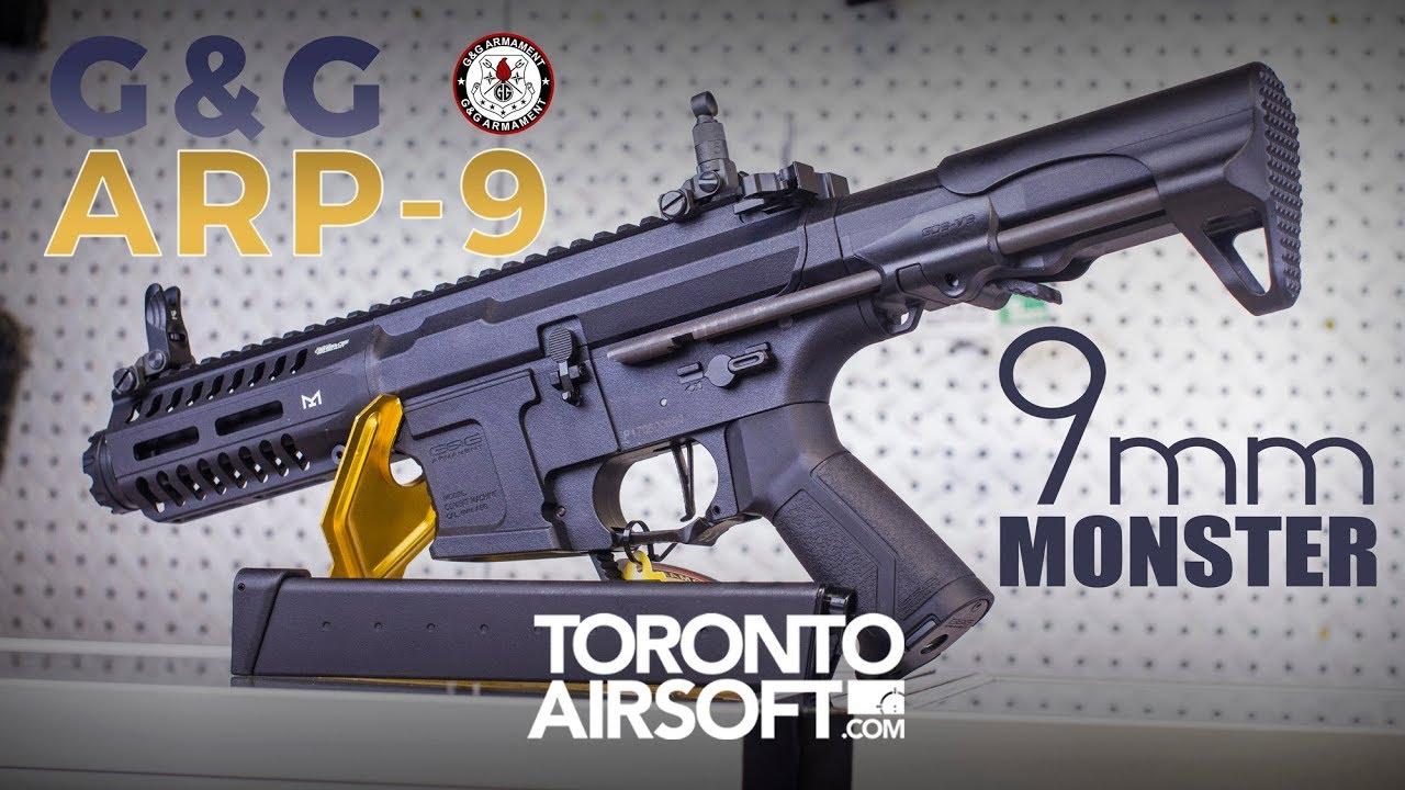 Examen détaillé du look G&G ARP 9 AEG – TorontoAirsoft.com
