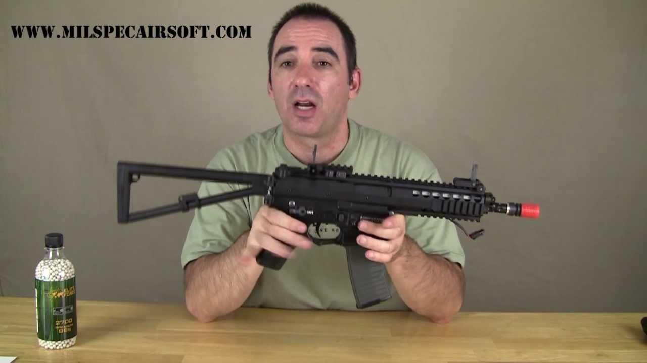 Airsoft Gun Review Elite Force K-PDW par VFC