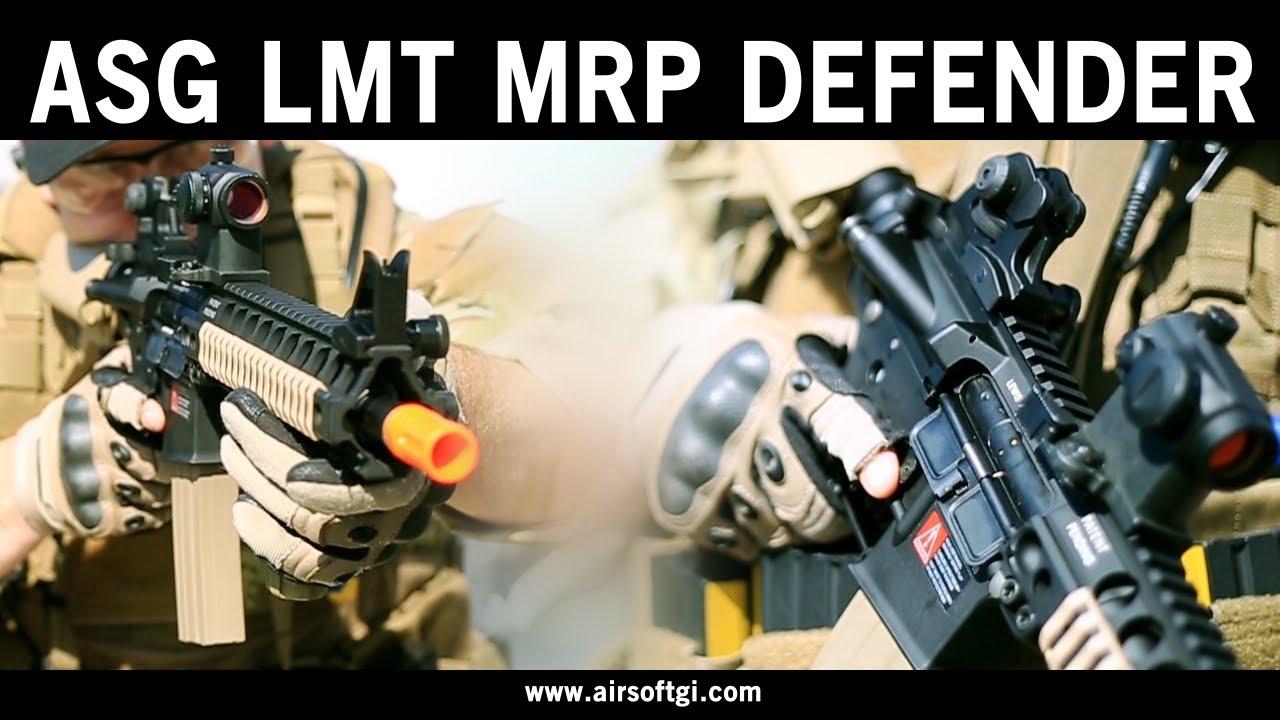 Airsoft GI – ASG LMT MRP Defender AEG Airsoft Gun Review