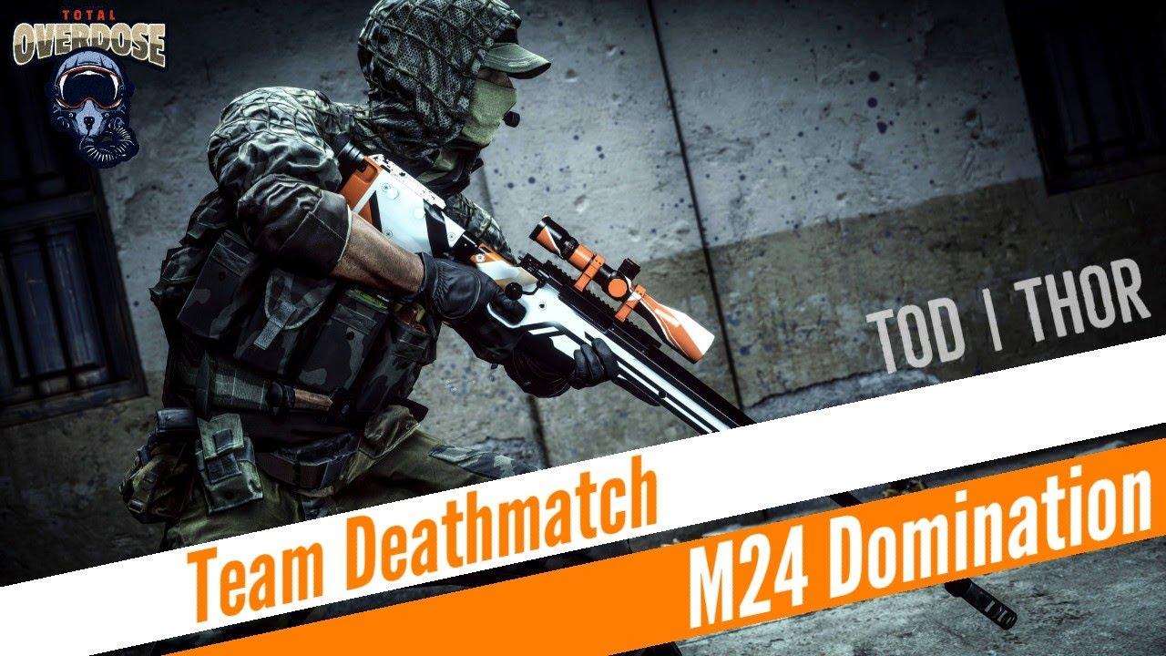 Gameplay M24 || TDM || TOD | THOR || MATCH EN SALLE
