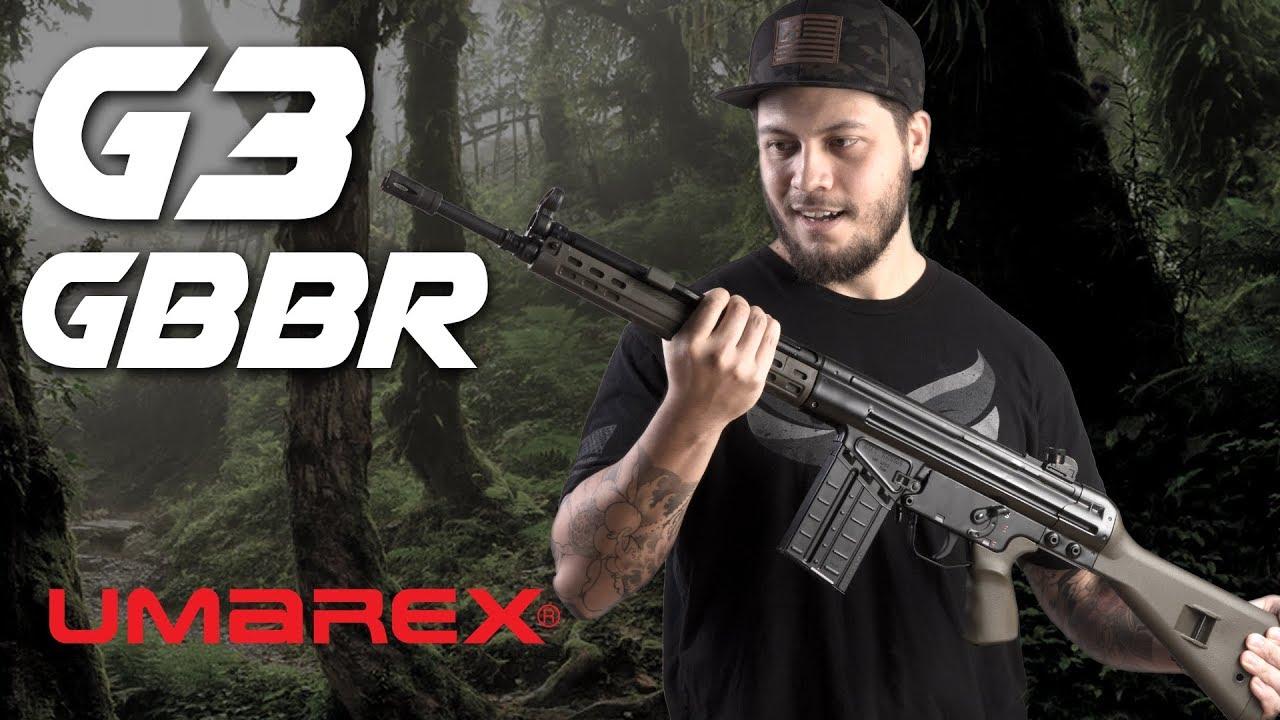 Umarex H&K G3 GBBR – Un rêve qui prend vie – RedWolf Airsoft RWTV