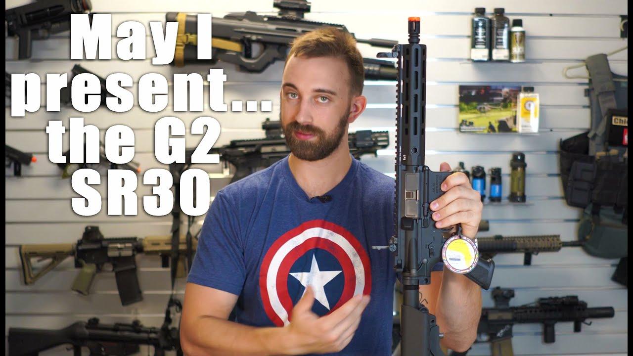 Examen sous licence G&G G2 SR30 Knights – Les résultats de tir peuvent vous surprendre !!