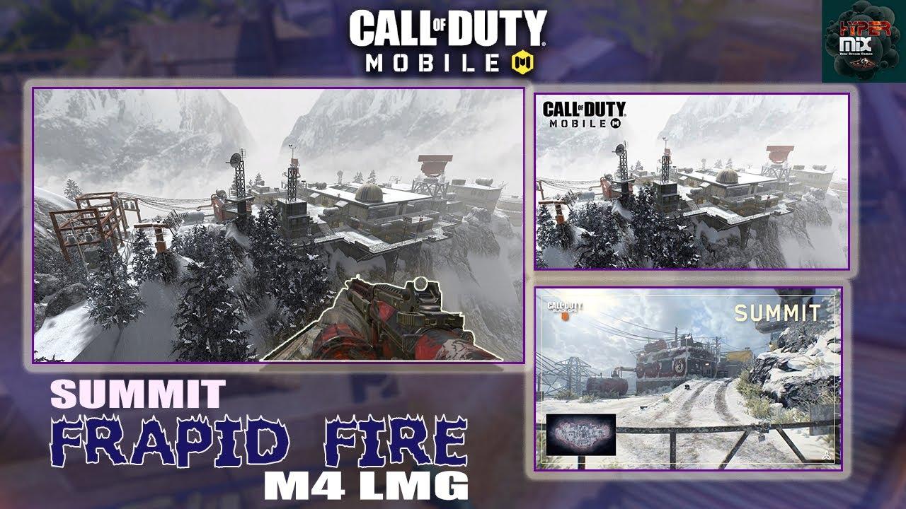 Rapid Fire Showdown sur Summit en utilisant des stries de score M4 LMG + | Call of Duty Mobile (2020)