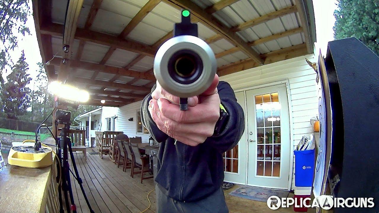 Revue de tir au pistolet Airsoft ASG Ruger MK II Dual Tone CO2 6 mm