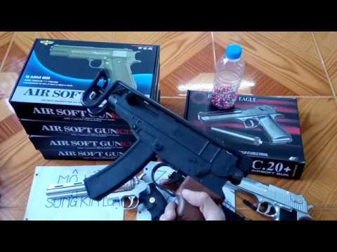 [Review] Maquette de pistolet métallique (Rulo – Glock – D.E – M37 – M1911)