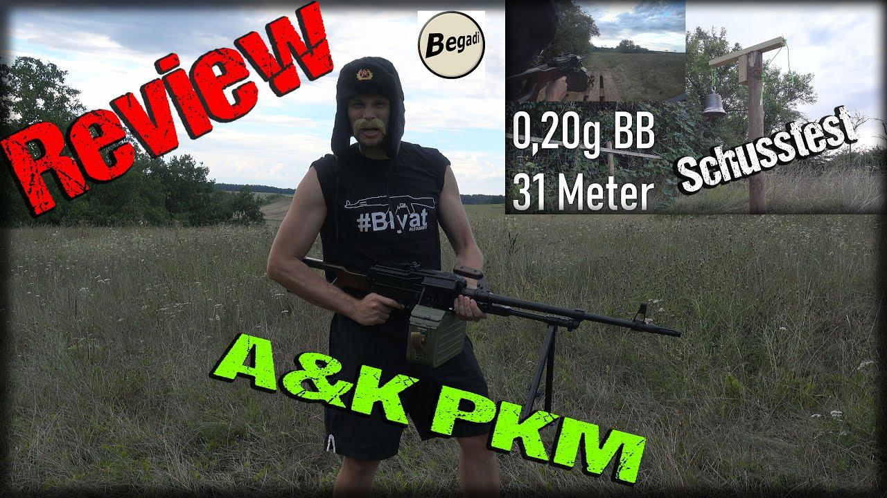 Bois véritable A&K PKM | 4K | Revue | Highlander Airsoft