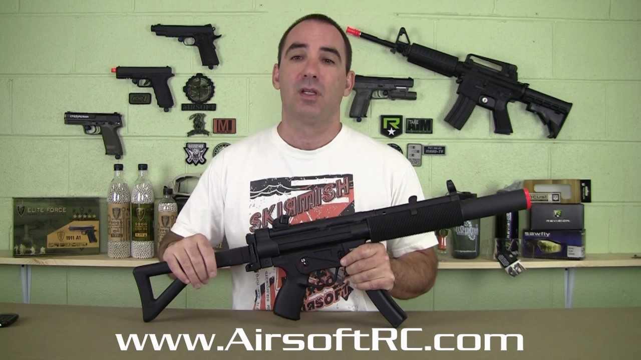 Airsoft Gun Review – ICS MP5SD AEG de AirsoftRC.com