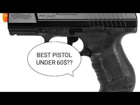 Examen du pistolet Airsoft Umarex Walther P99 DAO